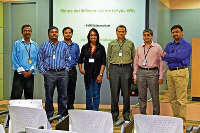 Kalki Subramaniam at Accenture Chennai